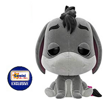 Funko POP! Disney Winnie The Pooh: Flocked Eeyore Gemini Collectibles Exclusive Vinyl Figure - Damaged Box / Flock Flaw