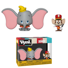 Funko Vynl. Disney: Dumbo & Timothy Vinyl Figure 2 Pack