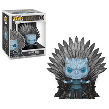 Funko POP! Deluxe Game Of Thrones: Night King On Iron Throne Vinyl Figure