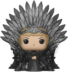 Funko POP! Deluxe Game Of Thrones: Cersei Lannister On Iron Throne Vinyl Figure