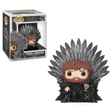 Funko POP! Deluxe Game Of Thrones: Tyrion Lannister On Iron Throne Vinyl Figure