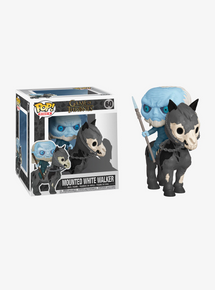 Funko POP! Rides Game Of Thrones: Mounted White Walker Vinyl Figure
