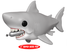 Funko POP! Movies Jaws: Great White Shark With Diving Tank 6 Inch Vinyl Figure