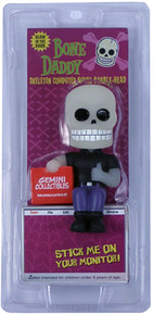Funko Glow In The Dark Bone Daddy Gemini Collectibles Exclusive Black Shirt Computer Sitter Bobblehead Vinyl Figure