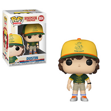 Funko POP! Television Stranger Things (Season 3): Dustin (At Camp) Vinyl Figure