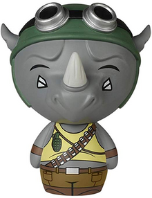 Funko Dorbz Television Teenage Mutant Ninja Turtles: Rocksteady Vinyl Figure