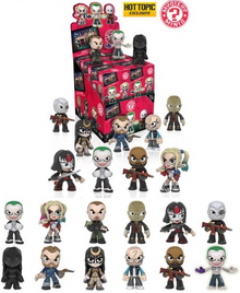 Funko Mystery Minis DC Comics: Suicide Squad 12pc Hot Topic Exclusive Vinyl Figure Assortment - Closeout