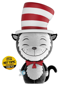 Funko Dorbz Books Dr. Seuss: Flocked Cat In The Hat Hot Topic Exclusive Vinyl Figure - LE 1500pcs