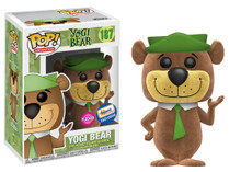 Funko POP! Animation Hanna Barbera: Flocked Yogi Bear Gemini Collectibles Exclusive Vinyl Figure - Damaged Box / Flock Flaw