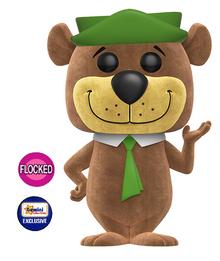 Funko POP! Animation Hanna Barbera: Flocked Yogi Bear Gemini Collectibles Exclusive Vinyl Figure - Damaged Box / Flock Flaw