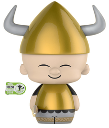 2018 ECCC Funko Dorbz Animation Looney Tunes: Viking Elmer Fudd Exclusive Vinyl Figure - LE 1000pcs - ECCC Sticker