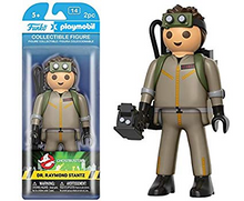 Funko Playmobil Ghostbusters: Dr. Raymond Stantz Collectible Figure