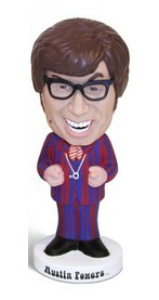 Funko Movies Austin Powers Goldmember: Austin Powers Wacky Wobbler Bobblehead