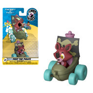 Funko Racers Five Nights At Freddy's: Foxy The Pirate Die-Cast Vehicle