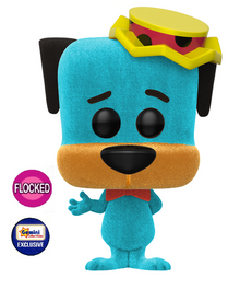 Funko POP! Animation Hanna Barbera: Flocked Huckleberry Hound Gemini Collectibles Exclusive Vinyl Figure - Damaged Box / Flock Flaw