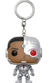 Funko Pocket POP! Keychain DC Comics Justice League: Cyborg Vinyl Figure