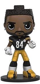 Funko Sports NFL: Antonio Brown Wobbler Bobblehead