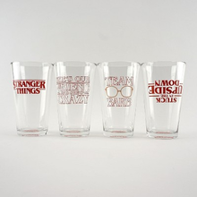 Loungefly Stranger Things: Barb 4pc Pint Glass Set