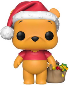 Funko POP! Disney: Holiday Winnie The Pooh Vinyl Figure - Only 6 Available
