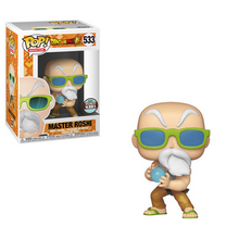 Funko POP! Animation Dragon Ball Z: Master Roshi (Max Power) Vinyl Figure - Specialty Series