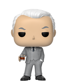 Funko POP! Television Mad Men: Roger Sterling Vinyl Figure
