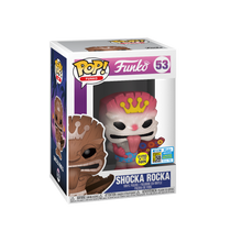 2019 FunDays Funko POP! Shocka Rocka (White Glow) Exclusive Vinyl Figure - LE 400pcs