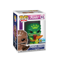 2019 FunDays Funko POP! Shocka Rocka (Green Glow) Exclusive Vinyl Figure - LE 400pcs