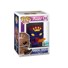 2019 FunDays Funko POP! Neon Shocka Rocka Exclusive Vinyl Figure - LE 1600pcs - Clearance