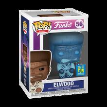 2019 FunDays Funko POP! Elwood (Blue Translucent) Exclusive Vinyl Figure - LE 3000pcs - Damaged Box Paint Flaw