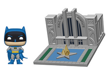 Funko POP! Town DC Comics: Batman With The Hall Of Justice Vinyl Figure