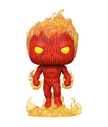 Funko POP! Marvel Fantastic Four: Human Torch Vinyl Figure