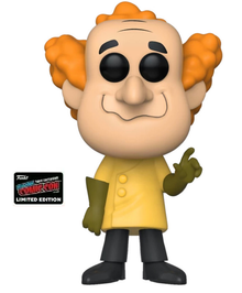 2019 NYCC Funko POP! Animation Hanna Barbera Wacky Races: Professor Pat Pending Exclusive Vinyl Figure - NYCC Sticker