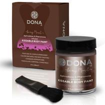 Dona Body Paint (Chocolate Mousse) 2 fl oz / 60 ml