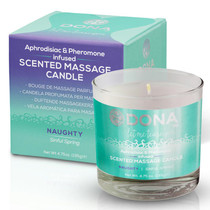 Dona Soy Massage Candle Naughty - Sinful Spring Net Wt 4.75 Oz / 135 G