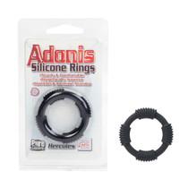 Adonis Silicone Rings - Hercules - Black