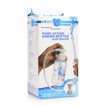 Clean Stream Pump Action Enema Bottle W/ Nozzle