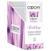 Coochy Shave Cream Floral Haze 24pc Foil Display
