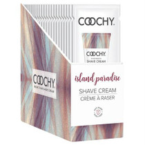 Coochy Shave Cream Island Paradise 24pc Foil Display