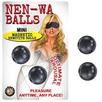 Nen Wa Balls Mini Magnetic Hemitite Kegel Balls (Graphite)