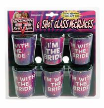 Bachelorette Shot Glass Necklace (Set of 6)
