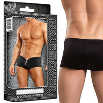 Male Power Zipper Shorts L/XL Underwear