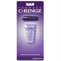 FCR - Fantasy C-Ringz Vibrating Super Sleeve Purple