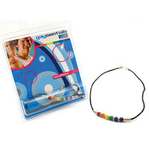 Gaysentials Ceramic Bead Necklace (18 Inches)