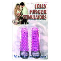 Jelly Finger Stimulators Purple