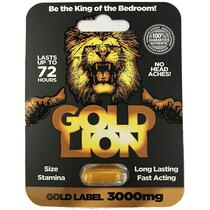 Gold Lion Male Enhancement Pill 1ct