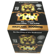 Gold Lion Male Enhancement Pill 1ct 24/Dp