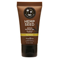 Earthly Body Hemp Seed Shower Gel Nag Champa 1oz