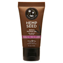 Earthly Body Hemp Seed Shower Gel Skinny Dip 1oz