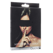 Ouch! Mystère Lace Mask - Black
