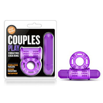 Play With Me - Couples Play - Vibrating Cockring - Purple